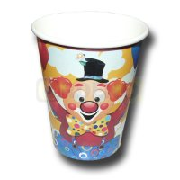 Clown Partybecher
