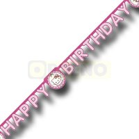 Hello Kitty Partykette HAPPY BIRTHDAY