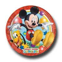 Mickey Mouse Partyteller 20 cm DM