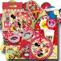 Minnie Mouse Partyset XXL