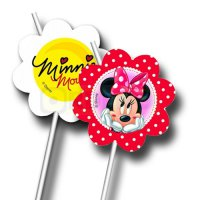 Minnie Mouse Trinkhalme