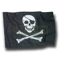 1 Piraten Flagge Jolly Roger