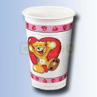 Teddy in Love Trinkbecher